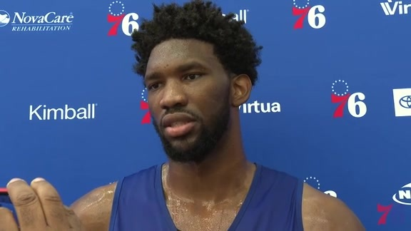 Joel Embiid | Training Camp Media Availability (09.23.18)
