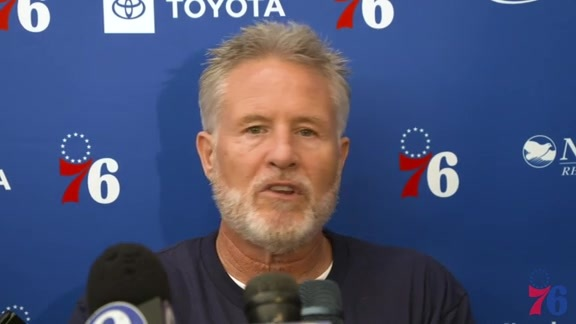 Brett Brown | Training Camp Media Availability (09.24.18)