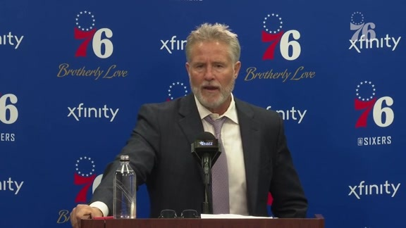 Postgame | Brett Brown vs Bulls (10.18.18)