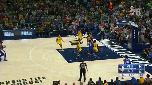 Assist of the Night | vs Indiana Pacers (11.7.18)