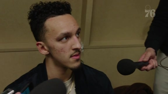 Landry Shamet | Postgame Media Availability vs Indiana (11.7.18)