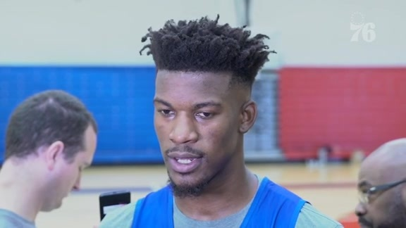 Shootaround | Jimmy Butler (11.14.18)