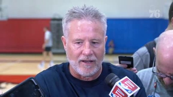 Shootaround | Brett Brown (11.14.18)