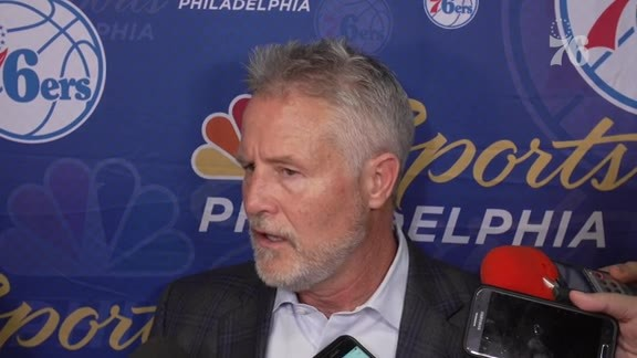 Brett Brown | Postgame Media Availability vs Orlando (11.14.18)