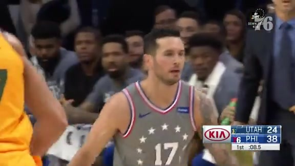 JJ Redick | Highlights vs Utah Jazz (11.16.18)