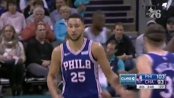 Ben Simmons | Highlights vs Charlotte Hornets (11.17.18)