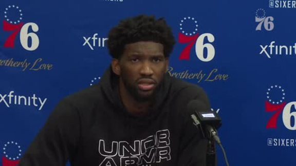 Joel Embiid & Mike Muscala | Postgame vs Suns (11.19.18)