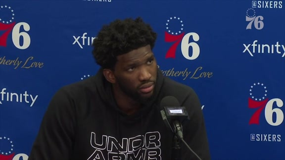 Joel Embiid and Mike Muscala | Postgame Media Availability vs Phoenix (11.19.18)