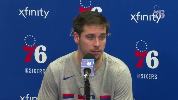 TJ McConnell   Postgame @ Pistons (12.10.18)