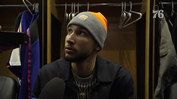 Ben Simmons | Postgame vs Nets (12.12.18)
