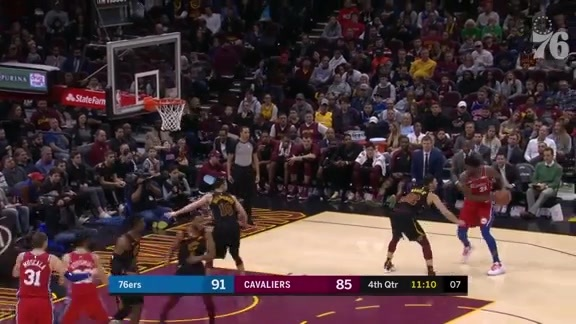 Joel Embiid | Highlights vs Cleveland Cavaliers (12.16.18)