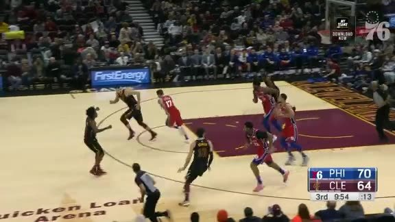 Assist of the Night   vs Cleveland Cavaliers (12.16.18)