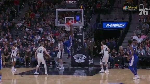 Assist of the Night | vs San Antonio Spurs