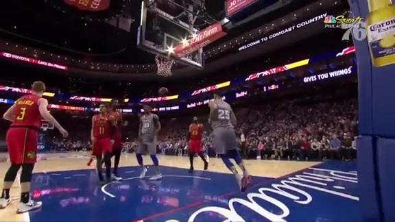 Ben Simmons | Highlights vs Atlanta Hawks (1.11.19)