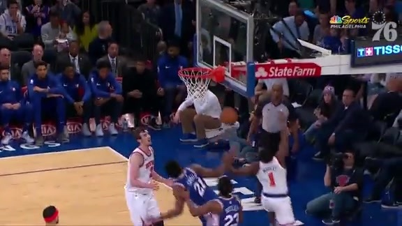 Joel Embiid | Highlights vs New York Knicks (1.13.19)
