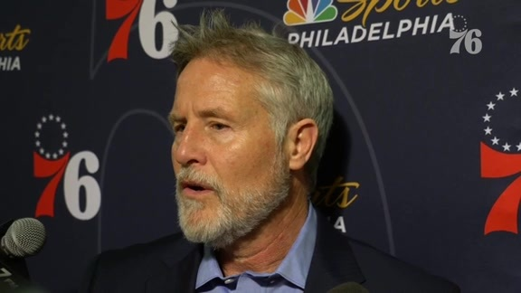 Brett Brown | Postgame @ Knicks (1.13.19)
