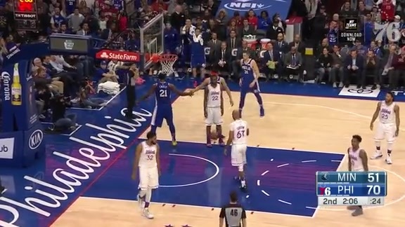 Joel Embiid | Highlights vs Minnesota Timberwolves (1.15.19)