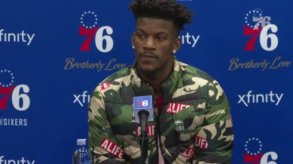 Jimmy Butler | Postgame vs Timberwolves (1.15.19)