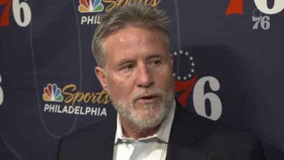 Brett Brown | Postgame @ Pacers (1.17.19)