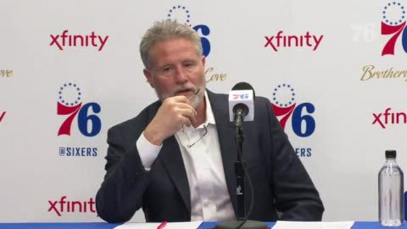 Brett Brown | Postgame vs Thunder (1.19.19)