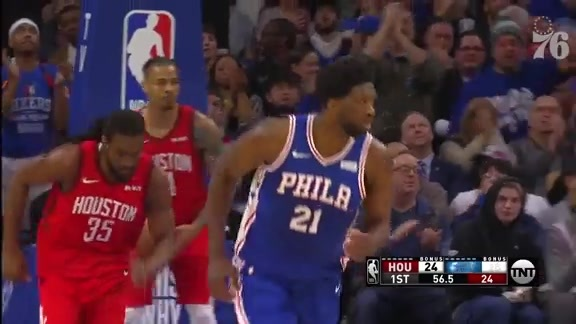 Joel Embiid | Highlights vs Houston Rockets (1.21.19)