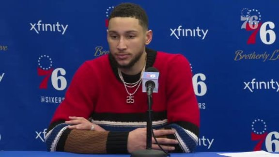 Ben Simmons | Postgame vs Rockets (1.21.19)