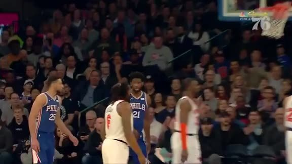 Joel Embiid | Highlights vs NY Knicks (2.13.19)