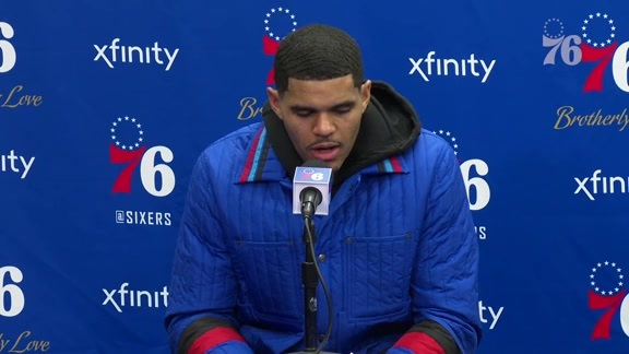 Tobias Harris | Postgame vs Heat (2.21.19)