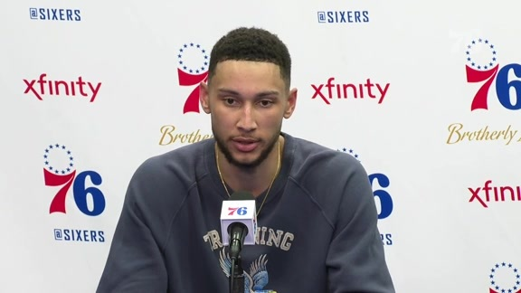 Ben Simmons | Postgame vs Trail Blazers (2.23.19)