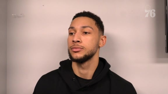 Ben Simmons | Postgame vs Bucks (3.17.19)