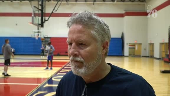 Brett Brown | Shootaround (3.25.19)