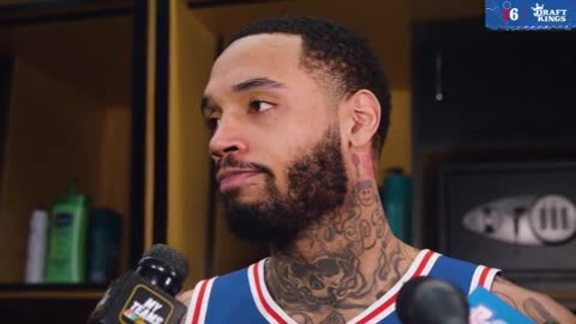 Mike Scott | Postgame vs Nets (4.15.19)