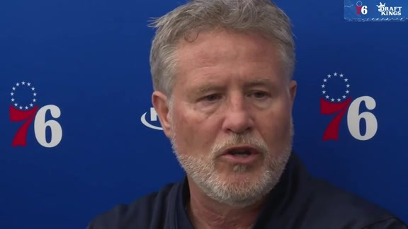 Brett Brown | Practice (4.22.19)