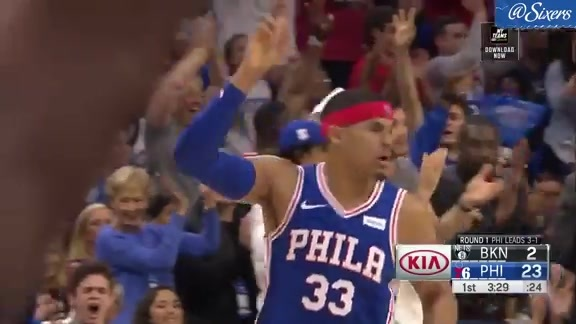 Tobias Harris | Highlights vs Brooklyn Nets (4.23.19)