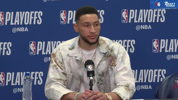 Ben Simmons | Postgame vs Nets (4.23.19)