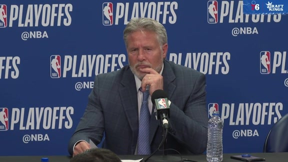 Brett Brown | Postgame vs Nets (4.23.19)