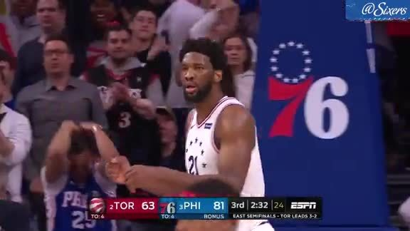 Joel Embiid | Highlights vs Toronto Raptors (5.9.19)