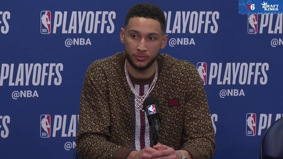 Ben Simmons | Postgame vs Raptors (5.9.19)