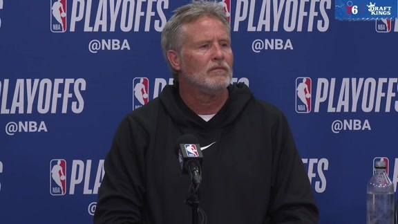 Brett Brown | Postgame vs Raptors (5.9.19)