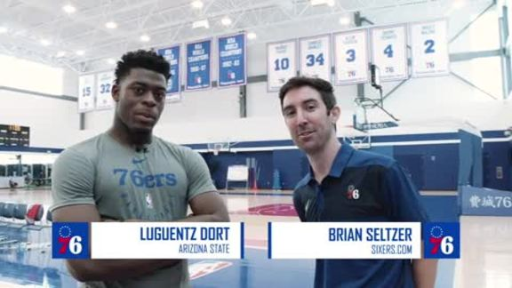 One-on-One with Luguentz Dort