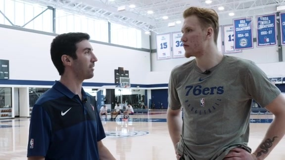 One-on-One with Ignas Brazdeikis
