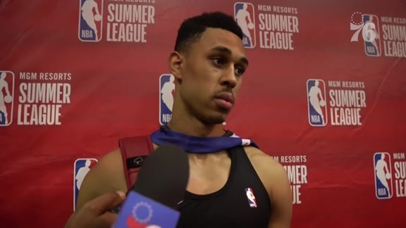 Zhaire Smith | Postgame vs Raptors (7.12.19)