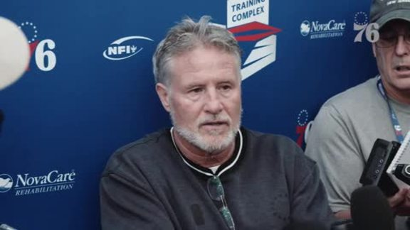 Brett Brown | Training Camp (10.1.19)