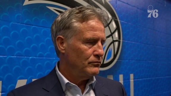 Postgame | Brett Brown vs Magic (10.13.19)