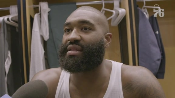 Kyle O'Quinn | Postgame Media Availability vs Detroit Pistons (10.15.19)