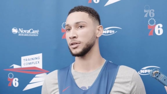 Ben Simmons | Training Camp Media Availability (10.16.19)