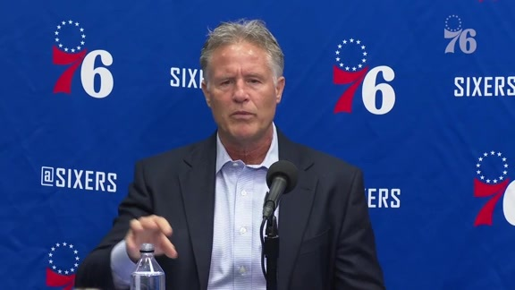 Brett Brown | Postgame Media Availability vs Washington Wizards (10.18.19)