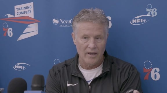 Brett Brown | Media Availability (10.22.19)