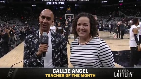 February Texas Lottery Teacher of the Month - Callie Angel