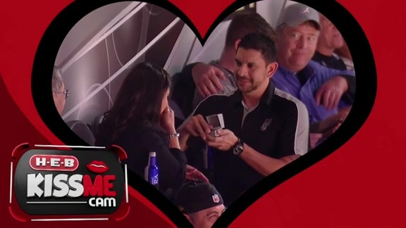 Happy Valentines Day - Game Day Wedding Proposal